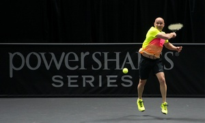 PowerShares Series Tennis: PowerShares Series Tennis Event Featuring Andre Agassi on Saturday, April 9, at 7 p.m.