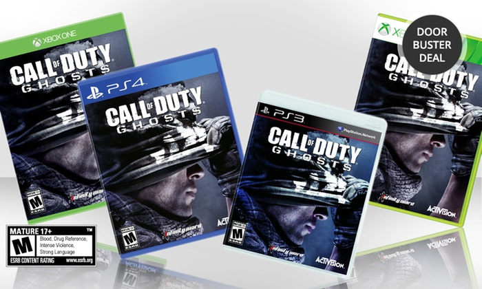 Call of Duty: Ghosts: Call of Duty: Ghosts for PlayStation 3, PlayStation 4, Xbox 360, or Xbox One. Free Returns.