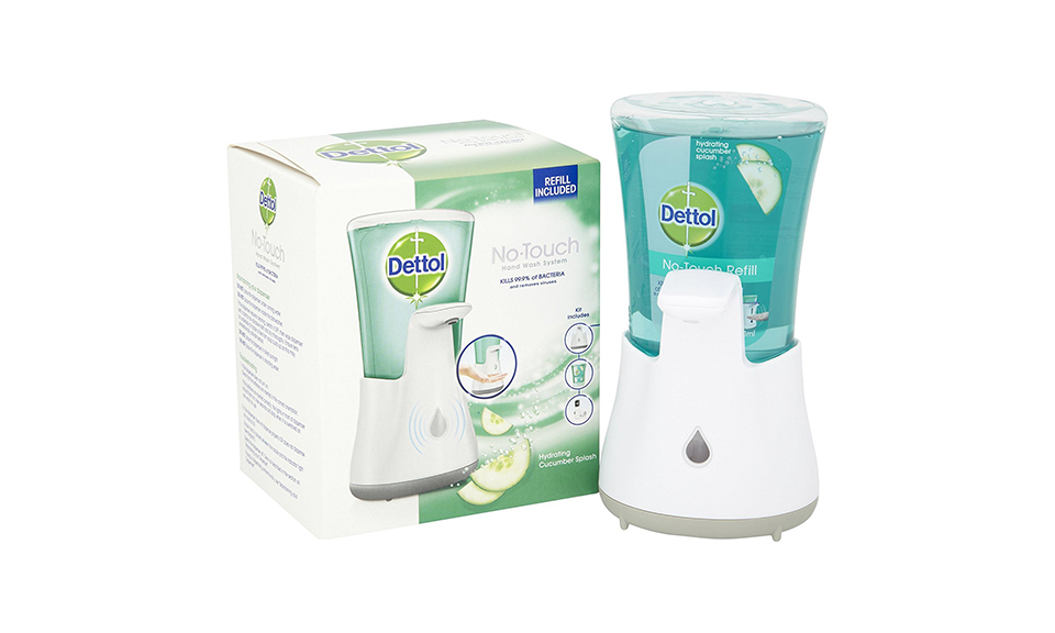 Dettol No-Touch Hand Wash System With One Refill From £6.98