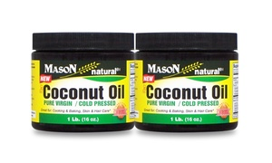 Organic Coconut Oil (2-pack)