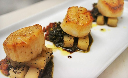 Five-Course Tasting Menu for Two or Four at Opus Fine Dining & Aria Wine Bar (Up to 57% Off)