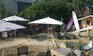 Asse strand: Déjeuner en 2 services et café ou un dîner en 3 services au choix à partir de 13 € à Asse Strand