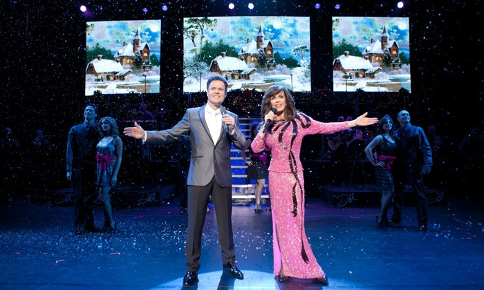 Donny & Marie Christmas - Downtown: Donny & Marie Christmas at Times Union Center on December 15 at 6:30 p.m. (Up to Half Off)