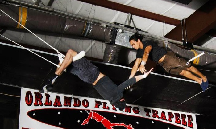 Orlando Circus School - Orlando Circus School and Orlando Flying Trapeze: Flying-Trapeze Class for One, Two, or Four at Orlando Circus School (Up to 53% Off)