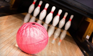 $30 For Bowling With Shoe Rental For Up To Five At Bowling Proprietors