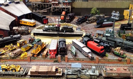 Holiday Train Show Admission for Two Adults or Family of Four at Connecticut River Museum (Up to 47% Off)