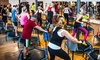 Fit and Jump - Toronto: Four or Eight Trampoline Fitness Classes at Fit and Jump (Up to 47% Off)