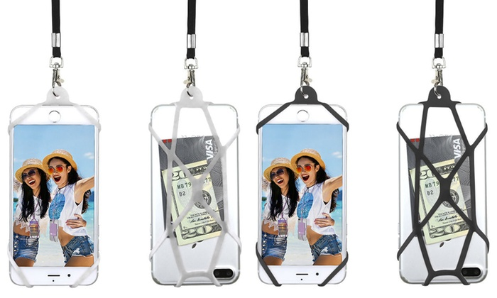 various colors e9a9a 7fad7 Gear Beast Universal Web Cell Phone Lanyard Neck Strap | Groupon
