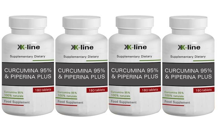 Fino 720 Compresse Curcumina 95 E Piperina Plus K Line