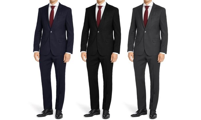 Carlo Lusso Men's Classic-Fit 2-Piece Suits
