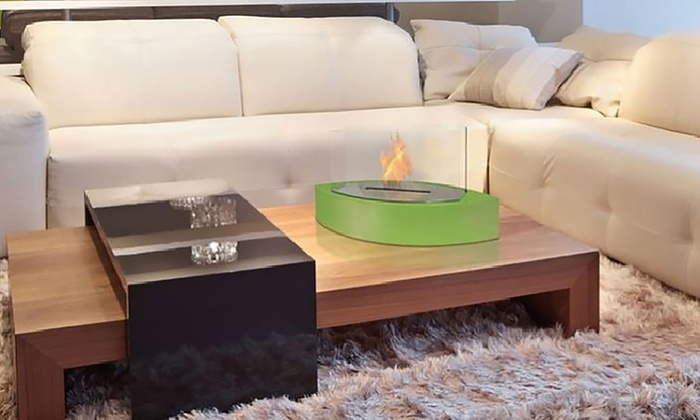 bio ethanol kamin groupon. Black Bedroom Furniture Sets. Home Design Ideas