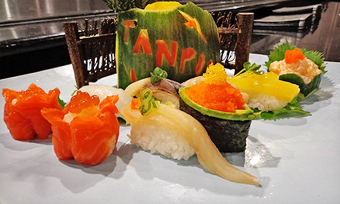 Tanpopo Japanese Restaurant - West End: Sushi and Japanese Cuisine at Tanpopo Japanese Restaurant (Half Off). Four Options Available.