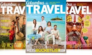Columbus Magazine: 5 of 10 nummer Columbus Travel, naar keuze met reisplanner