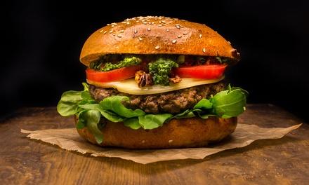 Bio Beef Burger Men Mit Getr Nk Burgerladen Groupon