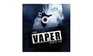 Lee Skelding: The Vaper Expo on 15 and 16 October (Up to 50% Off)