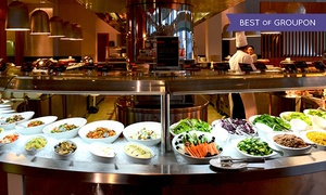 Dine-Aloft Hotel: Dinner Buffet with Soft Drinks For Up to Ten at Dine, Aloft Abu Dhabi (Up to 55% Off)