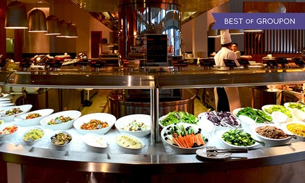 Dinner Buffet with Soft Drinks For Up to Ten at Dine, Aloft Abu Dhabi (Up to 55% Off)