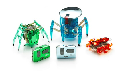 tri pack hexbug chrome edition