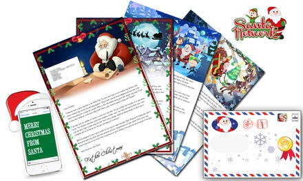 Personalised Letter from Santa Claus ($4.49) with Activity Pack ($5.99) from Santa Letter Direct (Up to $22.91 Value)