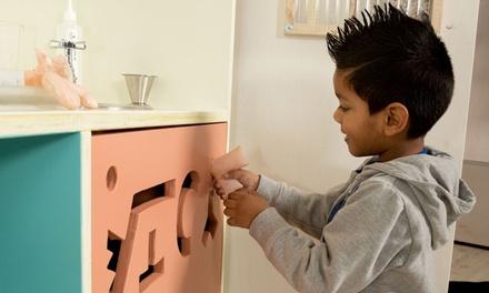 Kindermuseum Villa Zebra: entree voor 2, 3 of 4 pers. + workshop, naar keuze incl. portie poffertjes