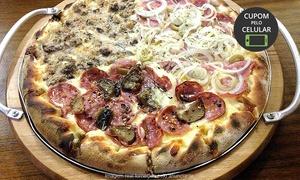 Pizzaria Vulcani: Pizzaria Vulcani – Canoas: pizza grande de até 12 fatias (opção com pizza broto)