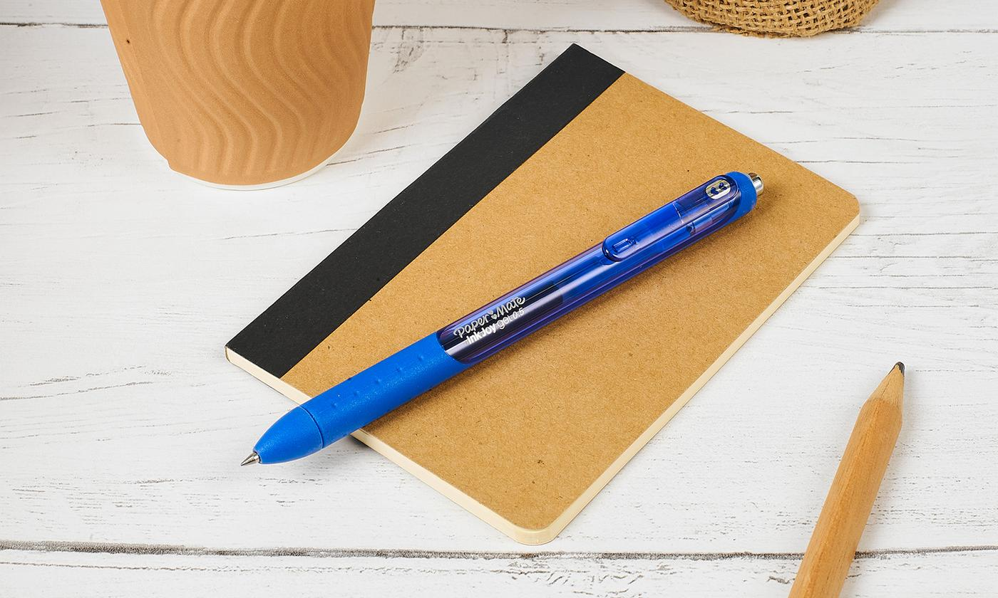 Up to 48 Papermate Gel Pure Blue Pens