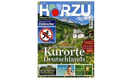 """Halbjahres-Abo der Zeitschrift """"Hörzu"""" frei Haus (Sie sparen: 91%)"""
