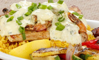 image for 44% Off Caribbean Cuisine at Sassy Bass Caribbean Grille. Two Options Available.