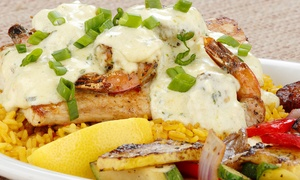 40% Off Caribbean Cuisine at Sassy Bass Caribbean Grille. Two Options Available.