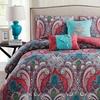 Casa Re'al Reversible Comforter, Duvet, or Quilt Set (5-Piece)