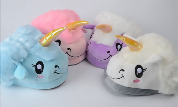 pas mal 285ef ad0d9 Chaussons Licorne | Groupon