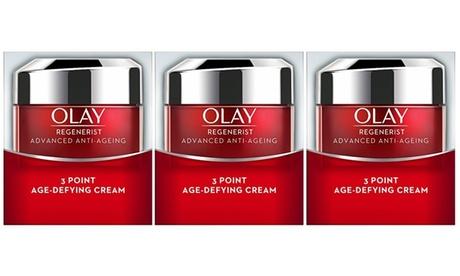Olay Regenerist Advanced Anti-Ageing 3 Point Age-Defying Cream (0.5 Oz.) (3-Pack)