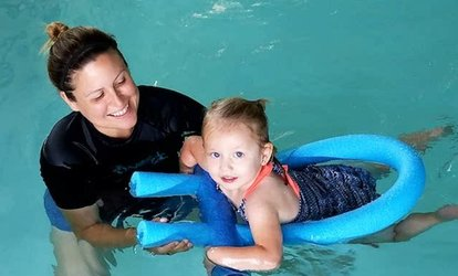image for One Month of <strong>Swimming</strong> Lessons for One or Two Children at Swim Houston Aquatics Center (Up to 73% Off)