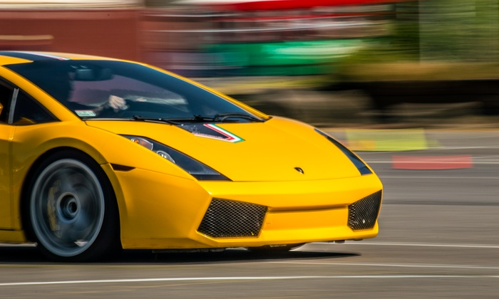 The Motorsport Lab - Beech Ridge Motor Speedway: Ferrari or Lamborghini Autocross Experience from The Motorsport Lab (Up to 82% Off). Four Options Available.