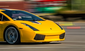 The Motorsport Lab: Ferrari or Lamborghini Driving Experience from The Motorsport Lab (Up to 82% Off). Two Locations Available.