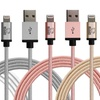 Rhino Premium Apple-Certified Lightning MFI Cables (2-Pack)