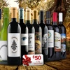 79% Off 15 Bottles of Wine and Voucher from Heartwood & Oak