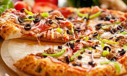 image for Pizza and a Glass of Wine for Two or Four at Pizza Pop (Up to 55% Off)