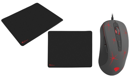 Mouse e mousepad Genesis da gaming disponibili in vari modelli