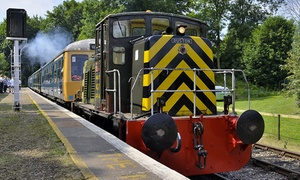 East Kent Railway: Heritage Train Tickets For Two Adults or Family of Four with The East Kent Railway (Up to 38% Off)