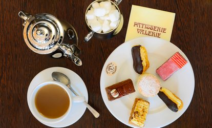 image for Traditional or Sparkling Afternoon Tea for Two at Patisserie Valerie, Multiple Locations (Up to 24% Off)