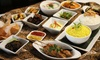 Indomania - Indomania: Indonesian-Dutch Fusion Rijstaffels Menu for Two or Four or Two Appetizers and Wine at Indomania (Up to 51% Off)