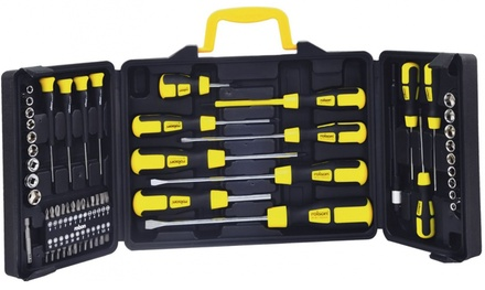 Rolson 60-Pc Screwdriver/Bit/Socket Set from £14.99 (Up to 59% Off)
