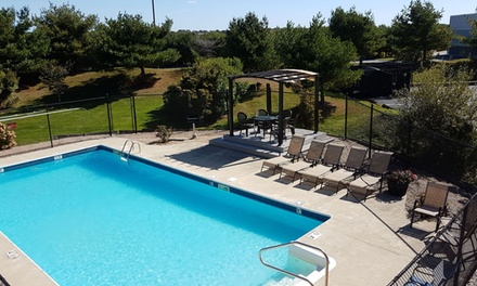 Stay at Ambassador Inn Newport in Middletown, RI. Dates into September.