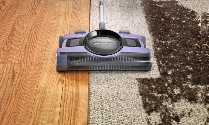 Shark V2950 13 Rechargeable Floor And Carpet Sweeper Groupon