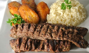 La Fogata BBQ: Latin Dinner for Two or Four at La Fogata BBQ and La Fogata Charcoals Kendall (Up to 29% Off)