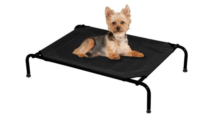 lit de camp pour animaux groupon. Black Bedroom Furniture Sets. Home Design Ideas