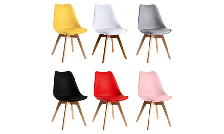 Set de 1, 2 o 4 sillas de estilo escandinavo Synk