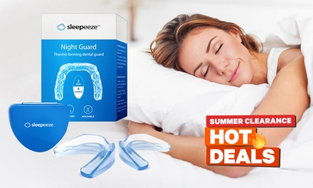 Sleepeeze Night Guard Thermo-Forming Dental Trays: One Pack ($12.95) or Two Packs ($17.95) (Don't Pay up to $78)