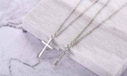 Philip Jones Cross Necklace